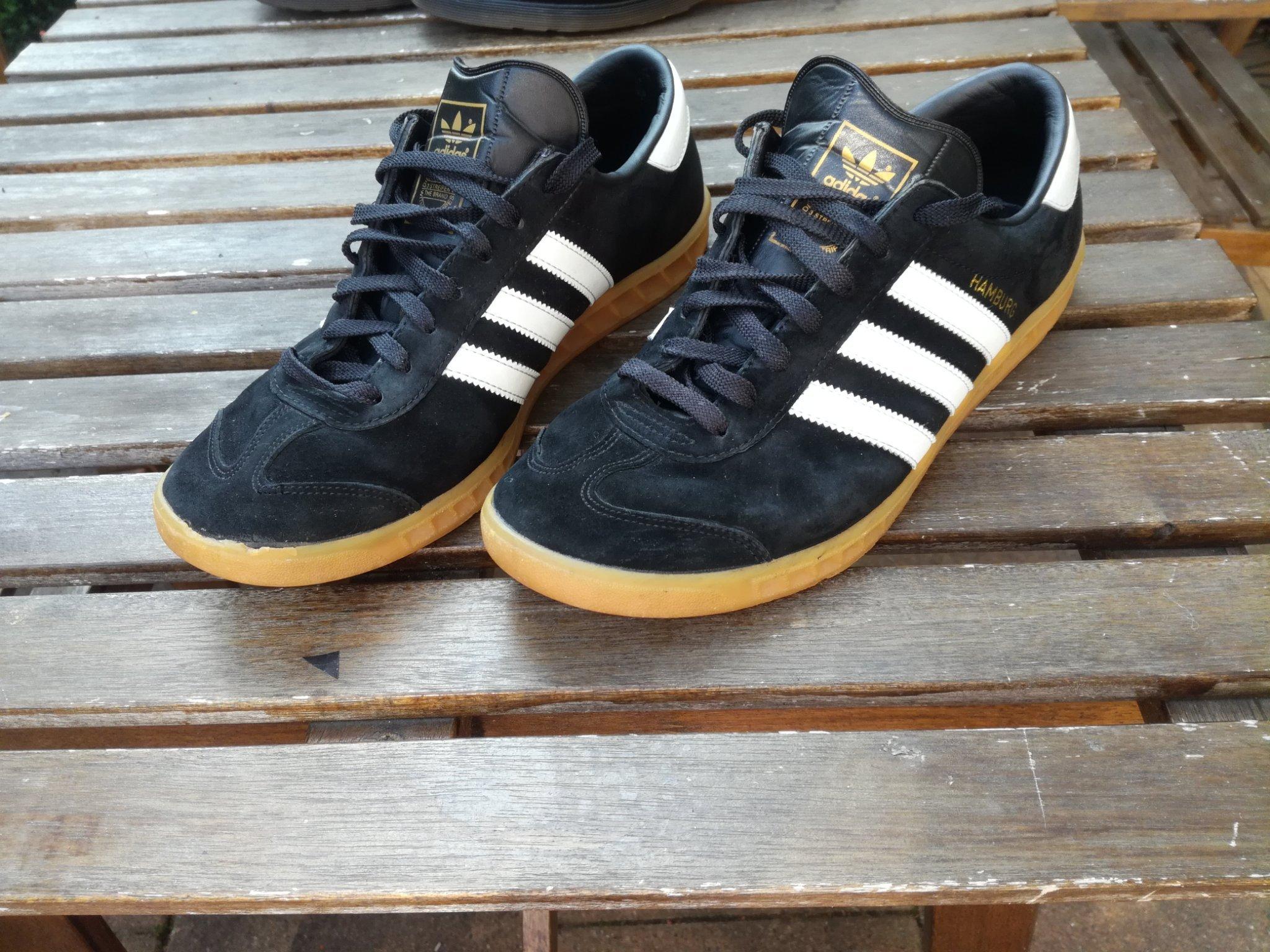 Adidas originals Hamburg strlk 44, uk 10 välanv.. (353363537