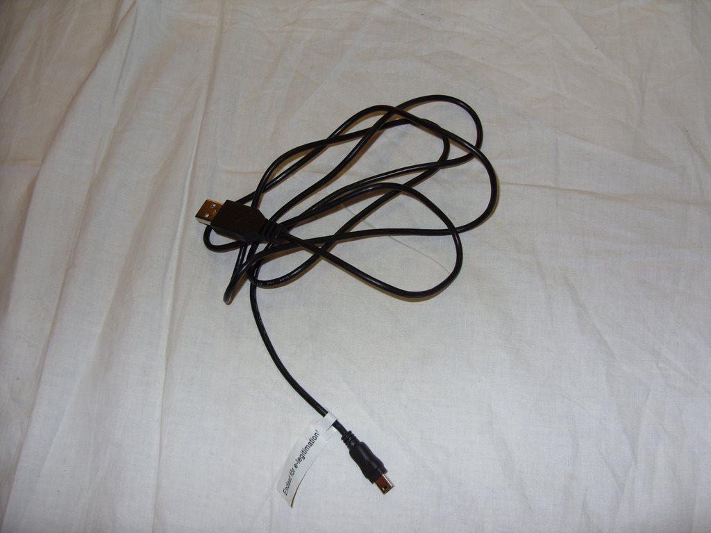 USB Kabel endast för e-legitimation banker bankid Nordea bank dosa på
