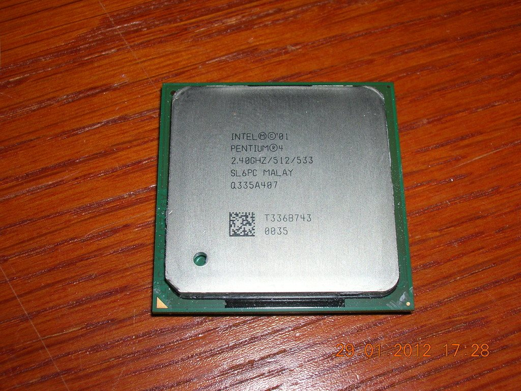 Intel  P4 2530 Mhz 533Mhz buss 512Kb cash 478 socket