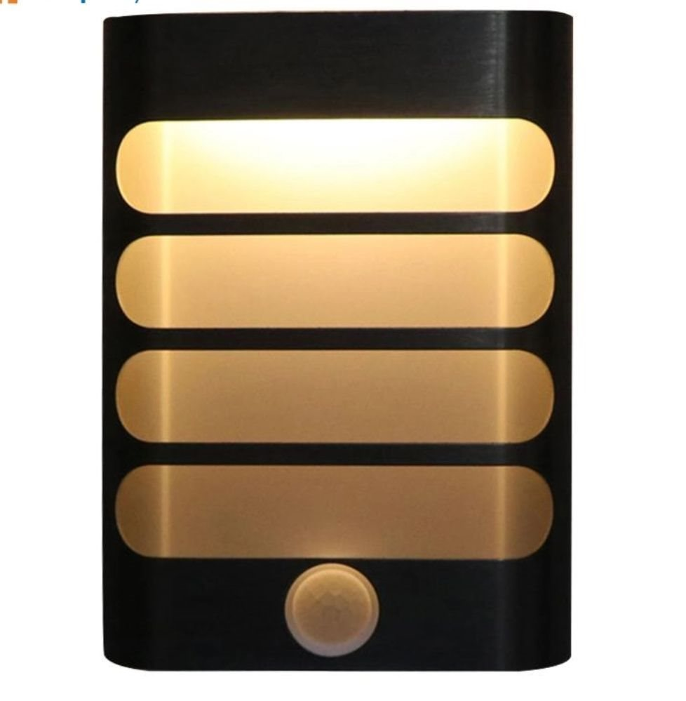 Nattlampa med rörelsedetektor på Tradera.com - Vägglampor | Lampor |