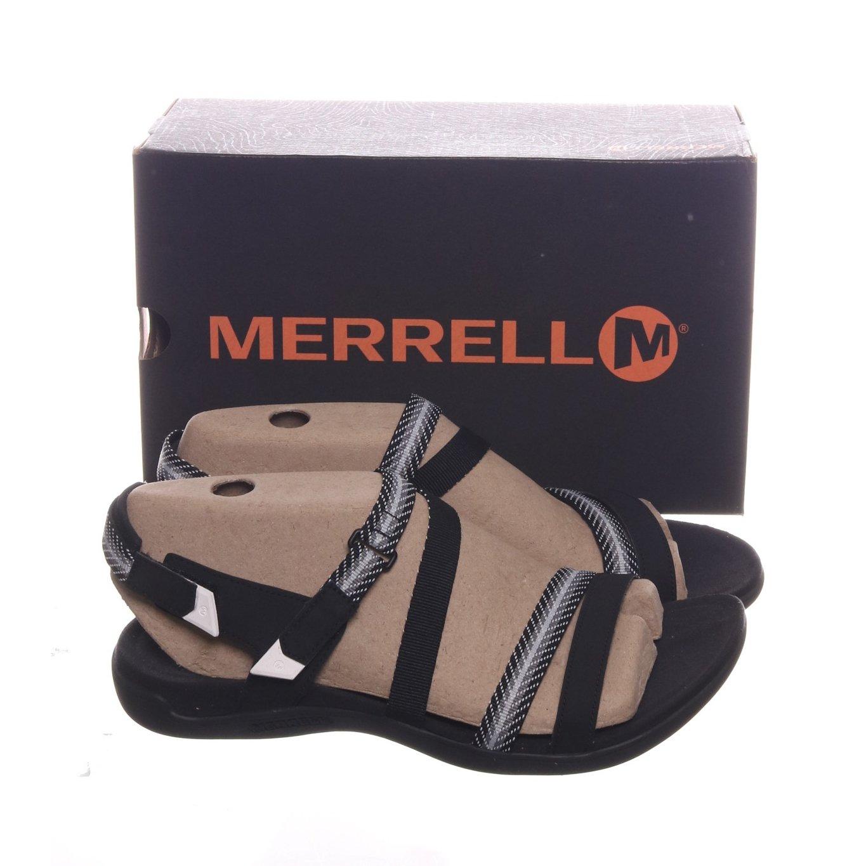 Merrell, Sandaler, Strl: 42, District Mendi Backstrap, Svart