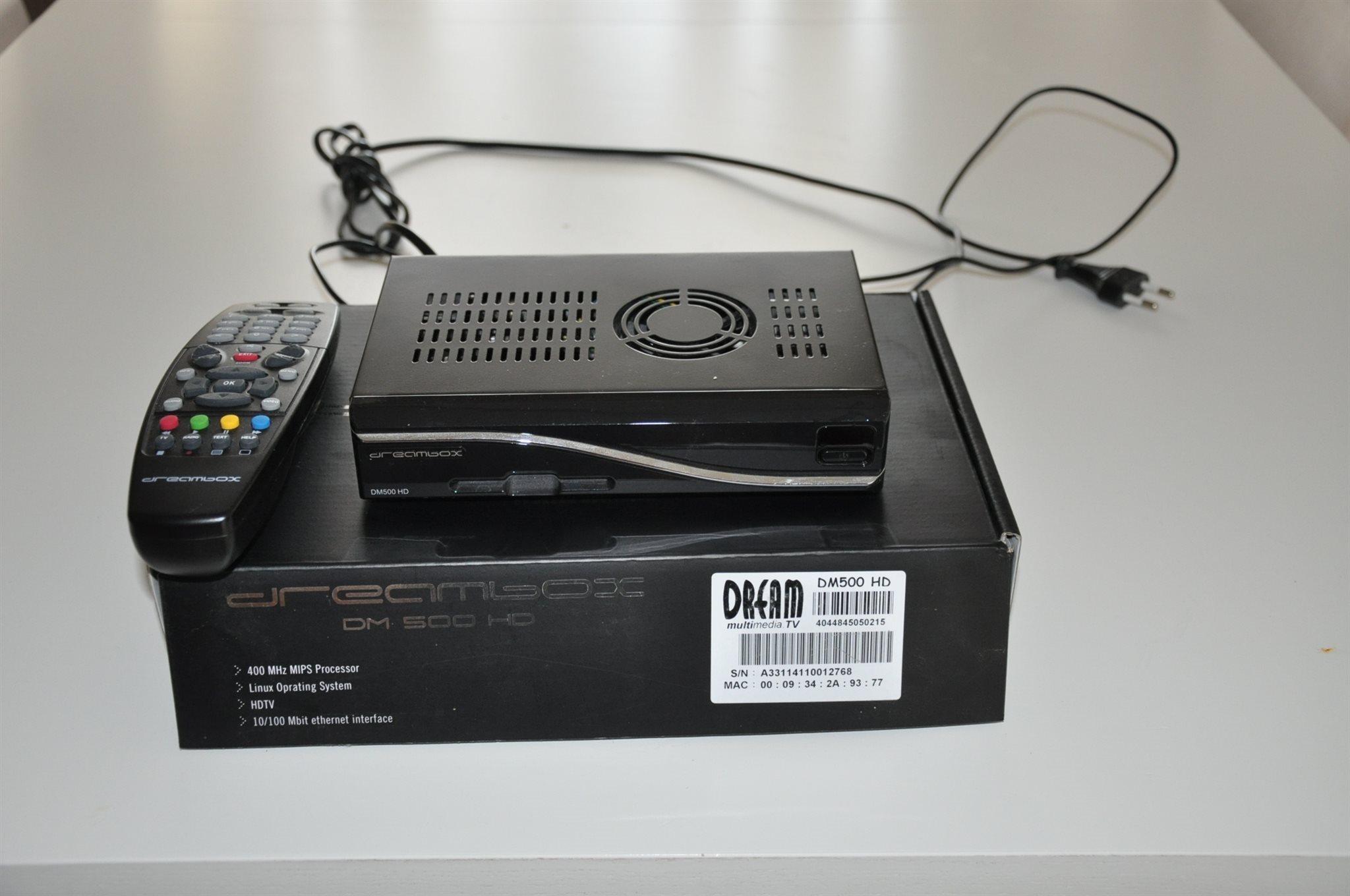 dreambox dmhd p tradera dekoder och box with tv dekoder