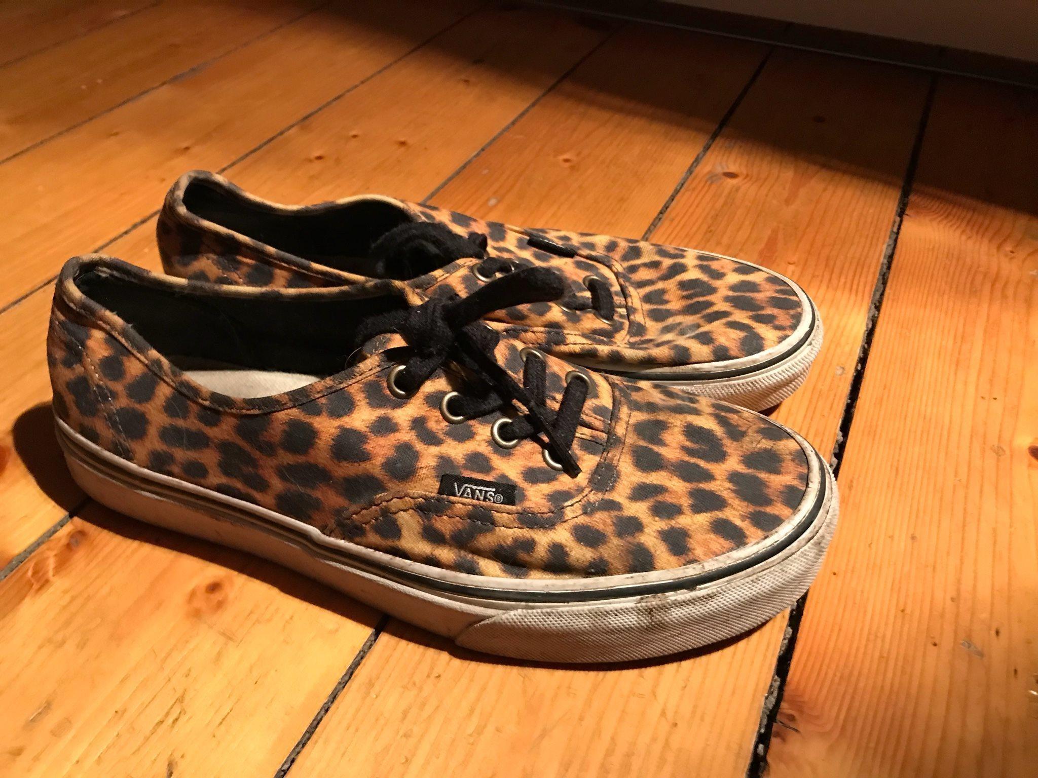 vans leopard 38