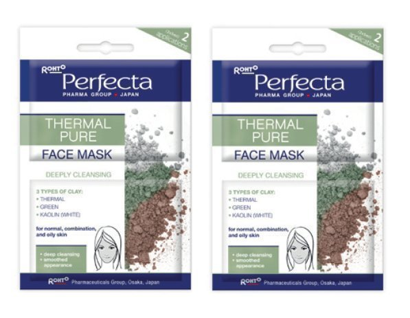 2st PERFECTA Thermal Pure Deep Cleansing Face Mask (med Lera) Ansiktsmask