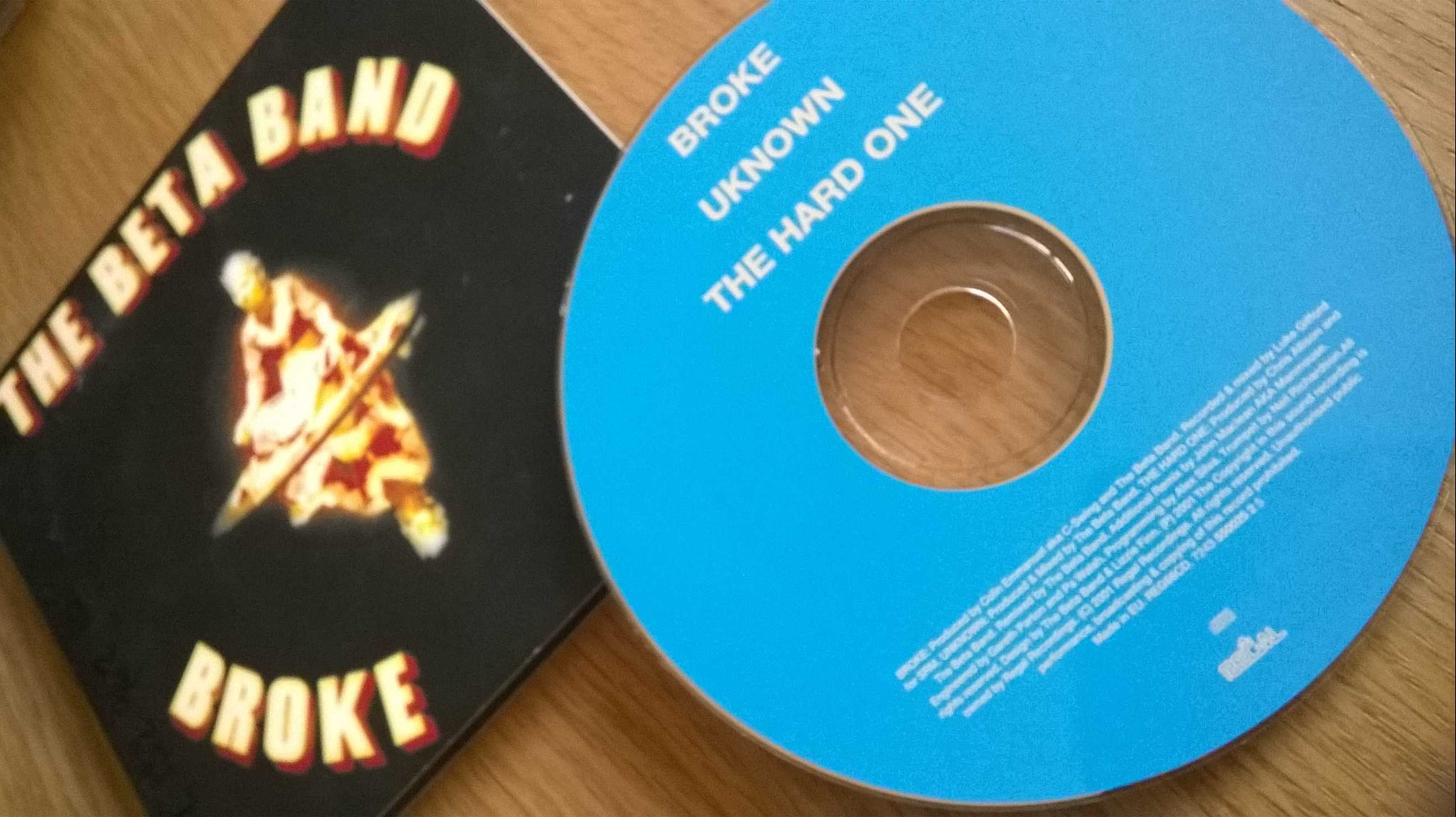 The Beta Band - Broke, CD, Single