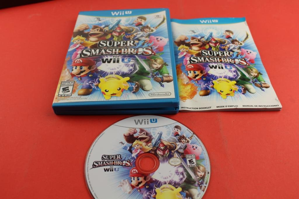 Super Smash Bros For Wii U Till Nint 321960546 Game World P