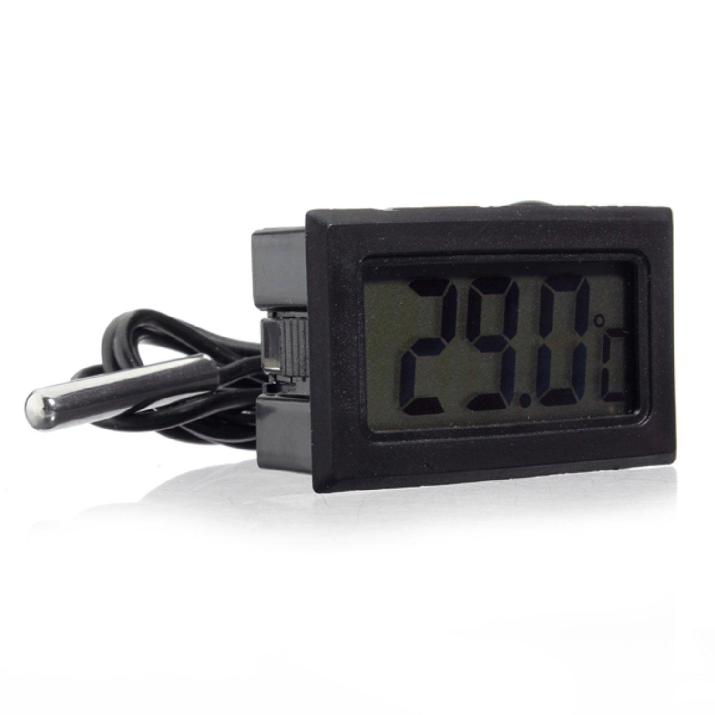 Fantastisk Akvarium LCD digital termometer fisk tank vatte.. (353578488) ᐈ XY-56