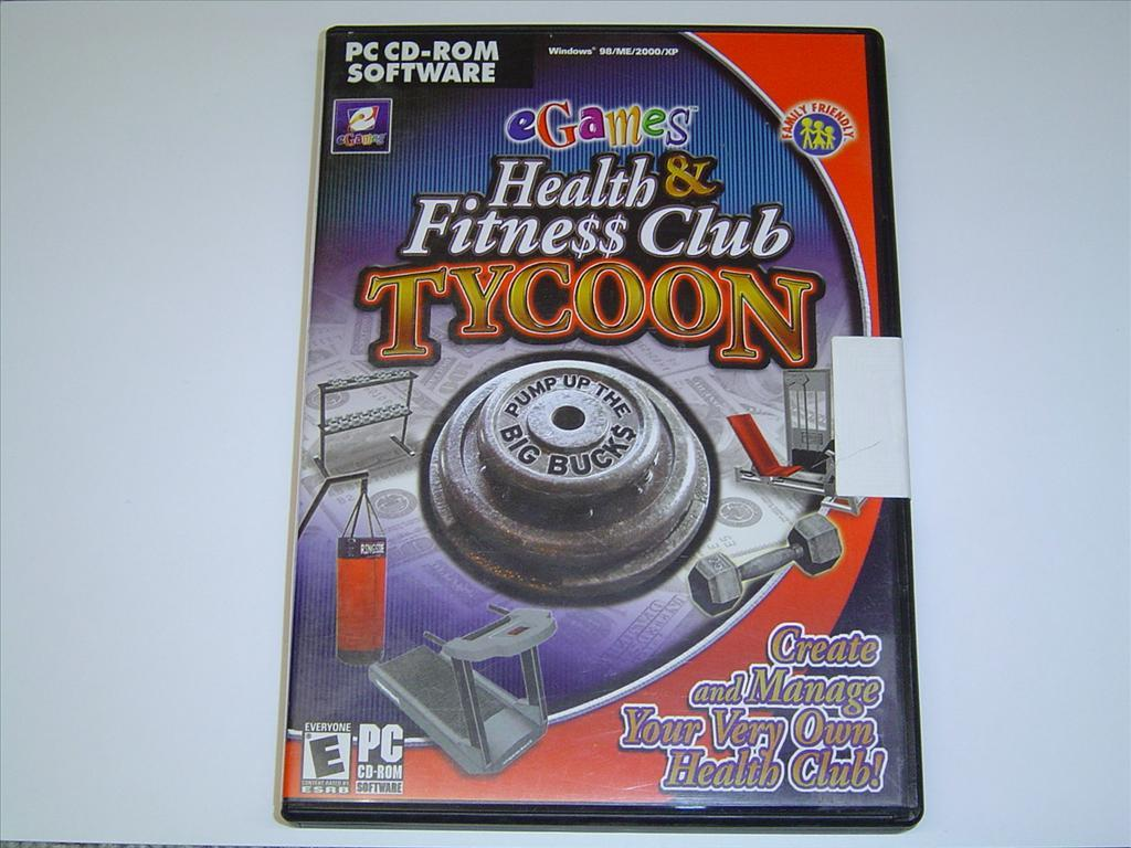 HEALTH & FITNESS CLUB TYCOON PC SPEL NYTT