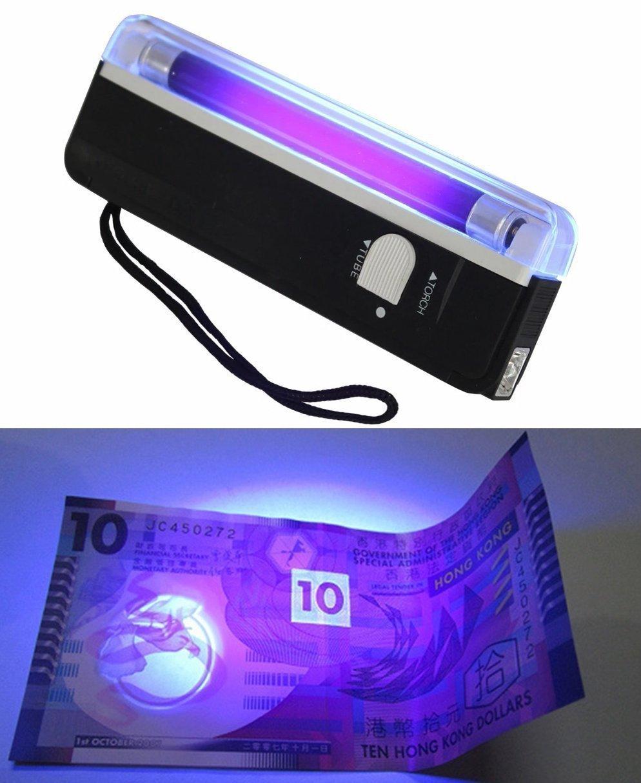 Ultraviolett lampa UV ficklampa (426595016) ᐈ Köp på Tradera