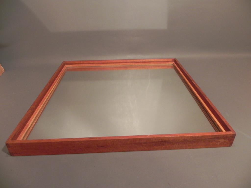 Ovanlig spegel teak luxus design uno & Östen kristiansson vittsjÖ på