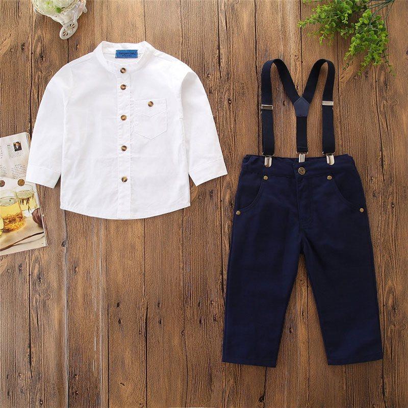 7ba3a5a9e5e6 4-5 år småbarn barn pojkar barnkläder kostym toppar-tröja-jacka-byxor ...