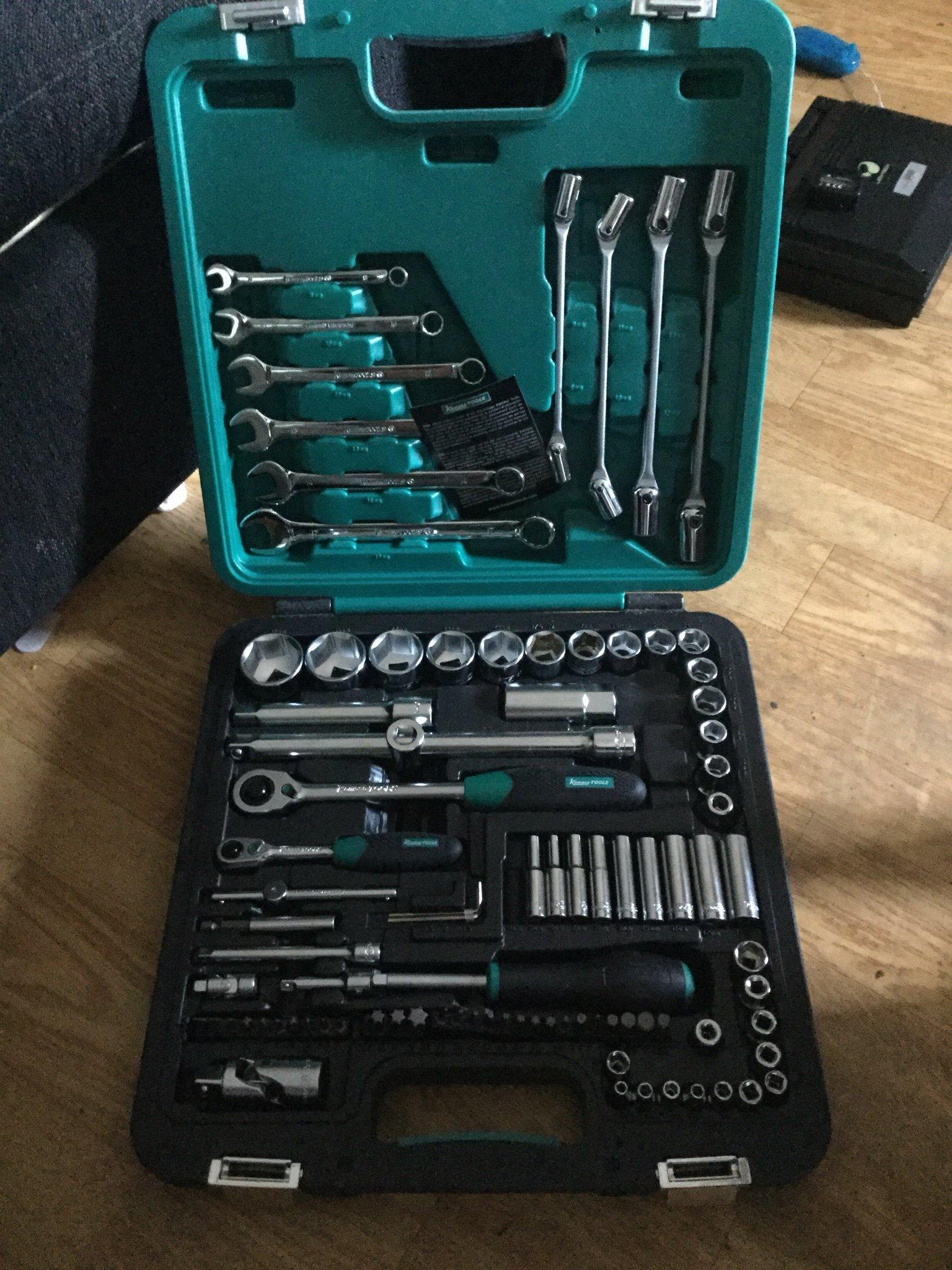 Bra Kamasa verktygssats 92 delar som nytt! (357893056) ᐈ Köp på Tradera TN-97