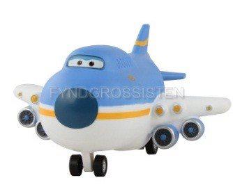Mästerflygarna Trafikvärd Super Wings Transformerar Airplane Fri Frakt Helt Ny