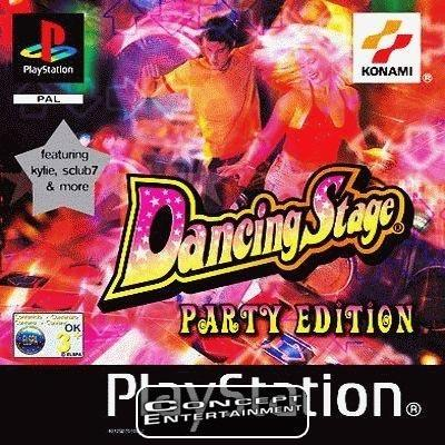 DANCING STAGE PARTY EDITION (komplett) till Sony Playstation, PS1