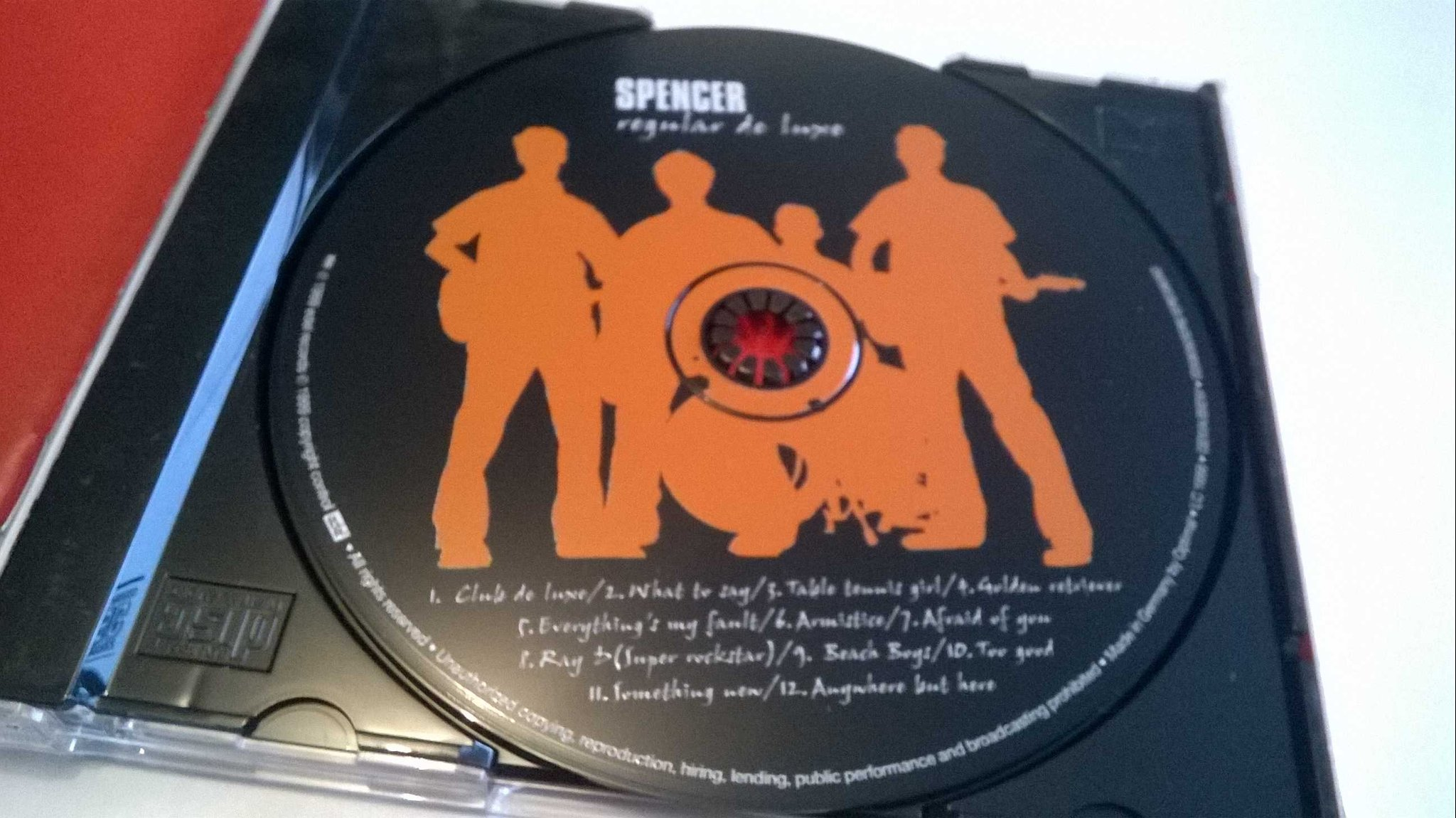 Spencer - Regular De Luxe, CD, very rare!