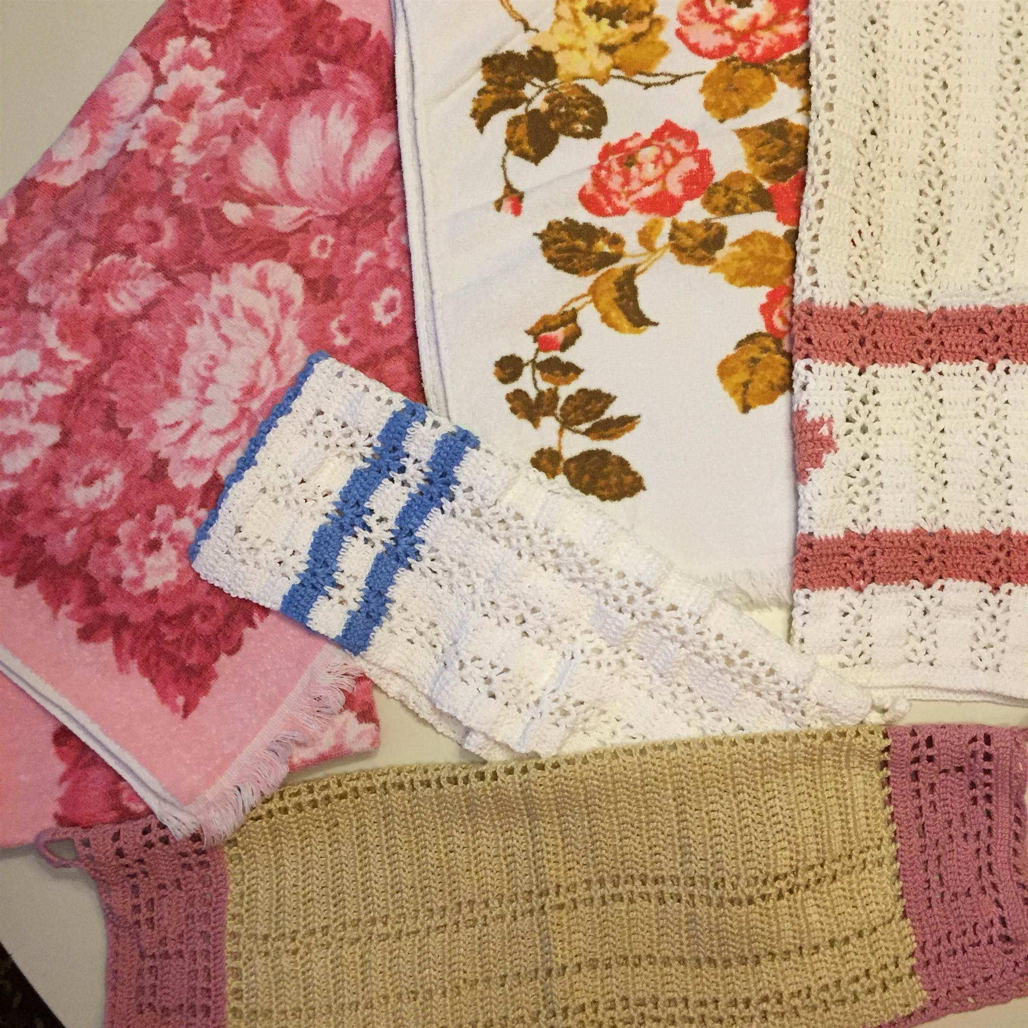 Shabby chic handdukar frotté o handvirkade (327368362) ᐈ Köp på Tradera 6e55baea009bd