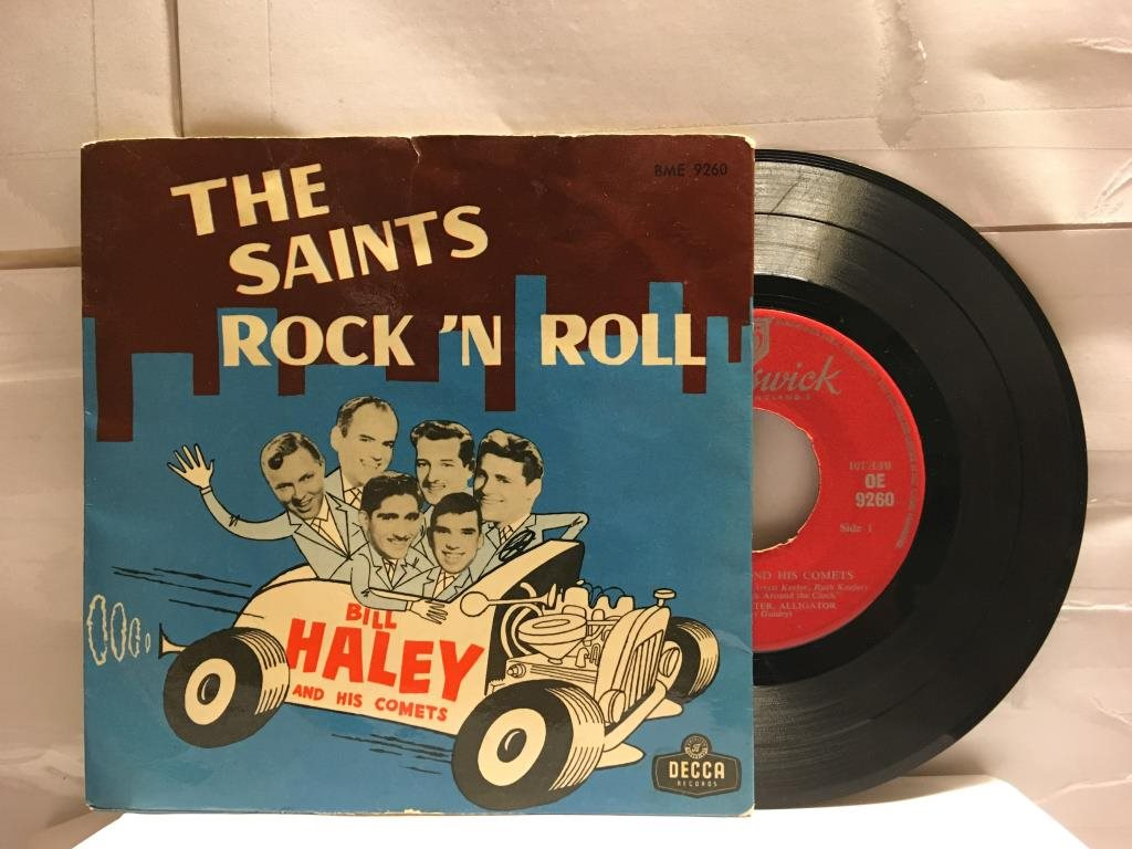 BILL HALEY AND HIS COMETS - THE SAINTS ROCK ´N  ROLL- EP