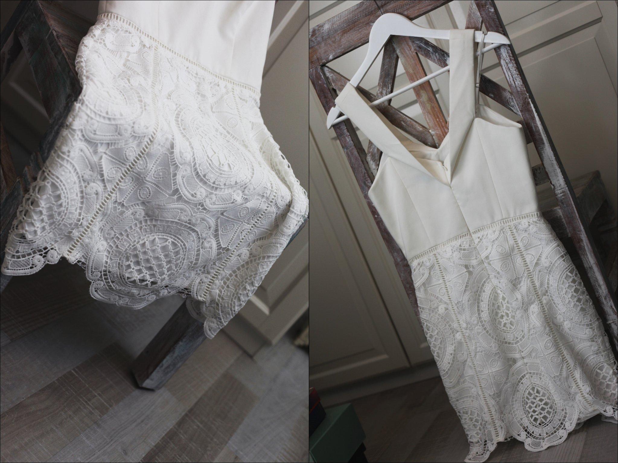 b7931cc9d183 NY jättefin vit virkad klänning från ADELYN RAE sommar vår student