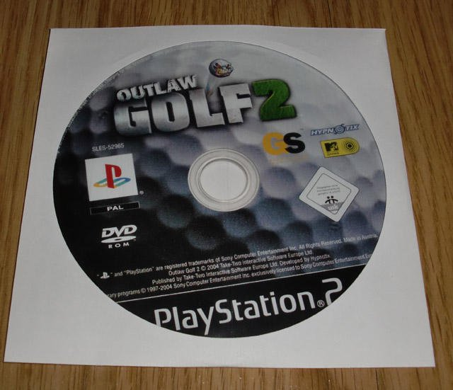 PS2: Outlaw Golf 2