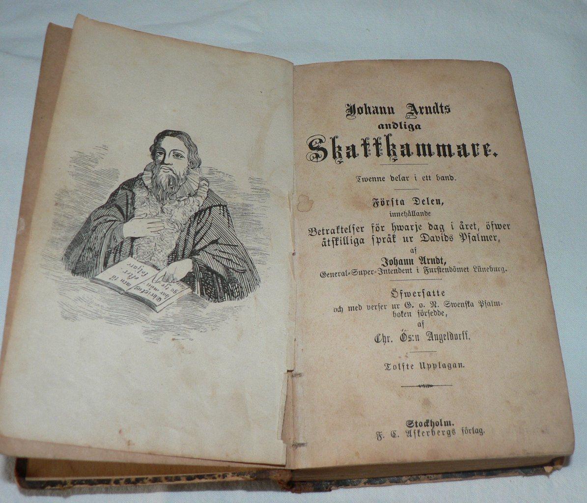Johan Arndts - - - Andliga Skattkammare - 1888 491318