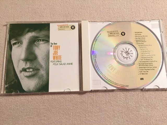 Tony Joe White - The Best Of Tony Joe White Featuring Polk Salad Annie (cd)