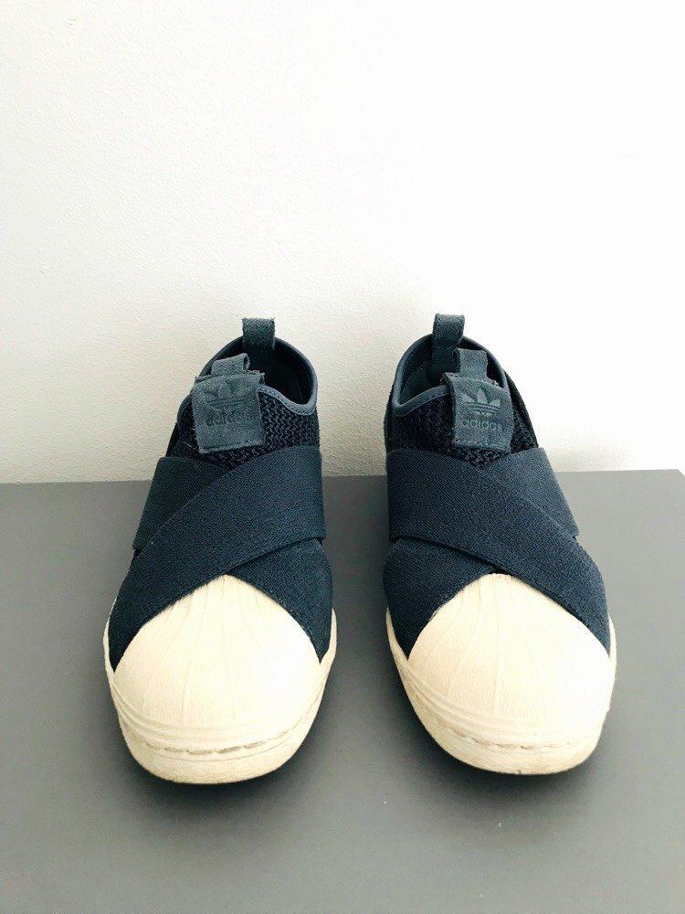 newest 69194 f2f0f Adidas Superstar slip on 38 (349249660) ᐈ Köp på Tradera