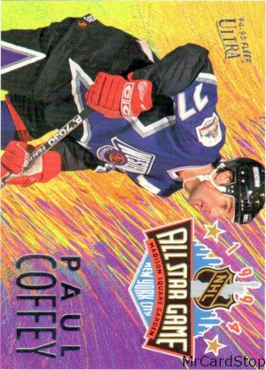 Ultra 1994-95 All-Stars 9 Paul Coffey Pittsburgh Penguins