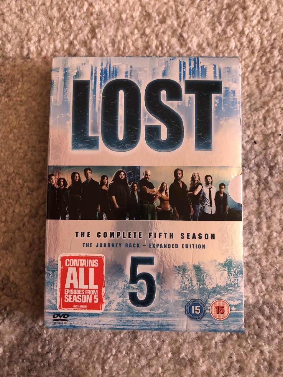 Lost - Säsong 5 (5-disc)