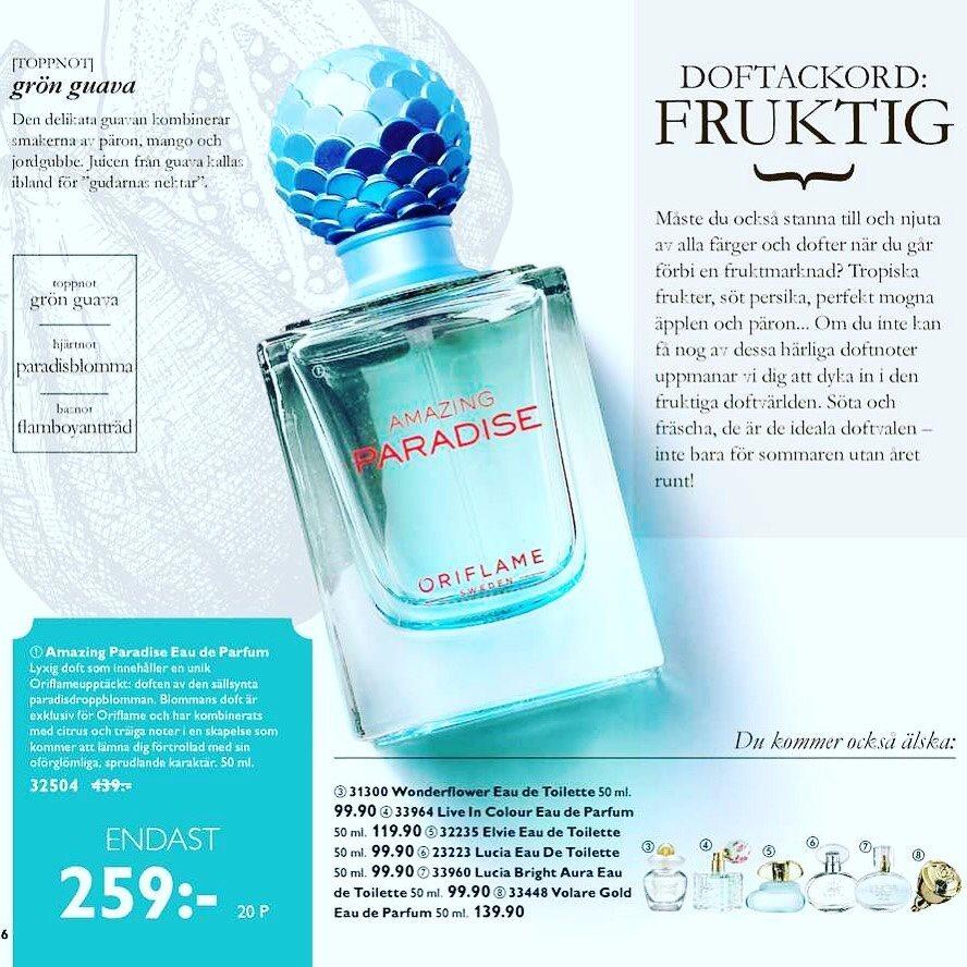 259 Kr 322388894 Kp P Tradera Volare Gold Eau De Parfum 50ml By Oryflame