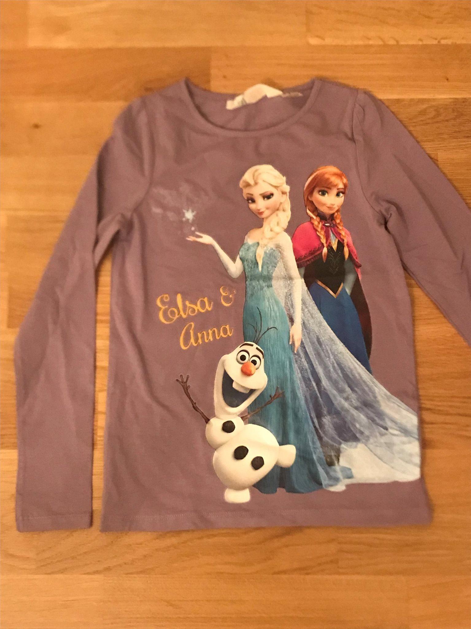 1 Ny Fin Frozen frost Elsa Anna tröja storlek 1.. (340359051) ᐈ Köp ... 46b782088b405