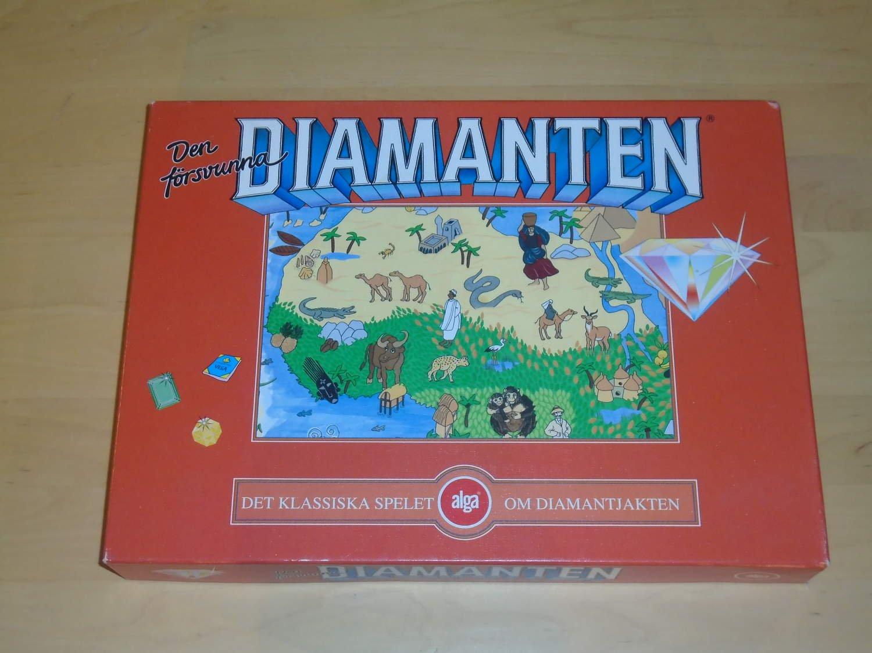 jakten på den försvunna diamanten retro