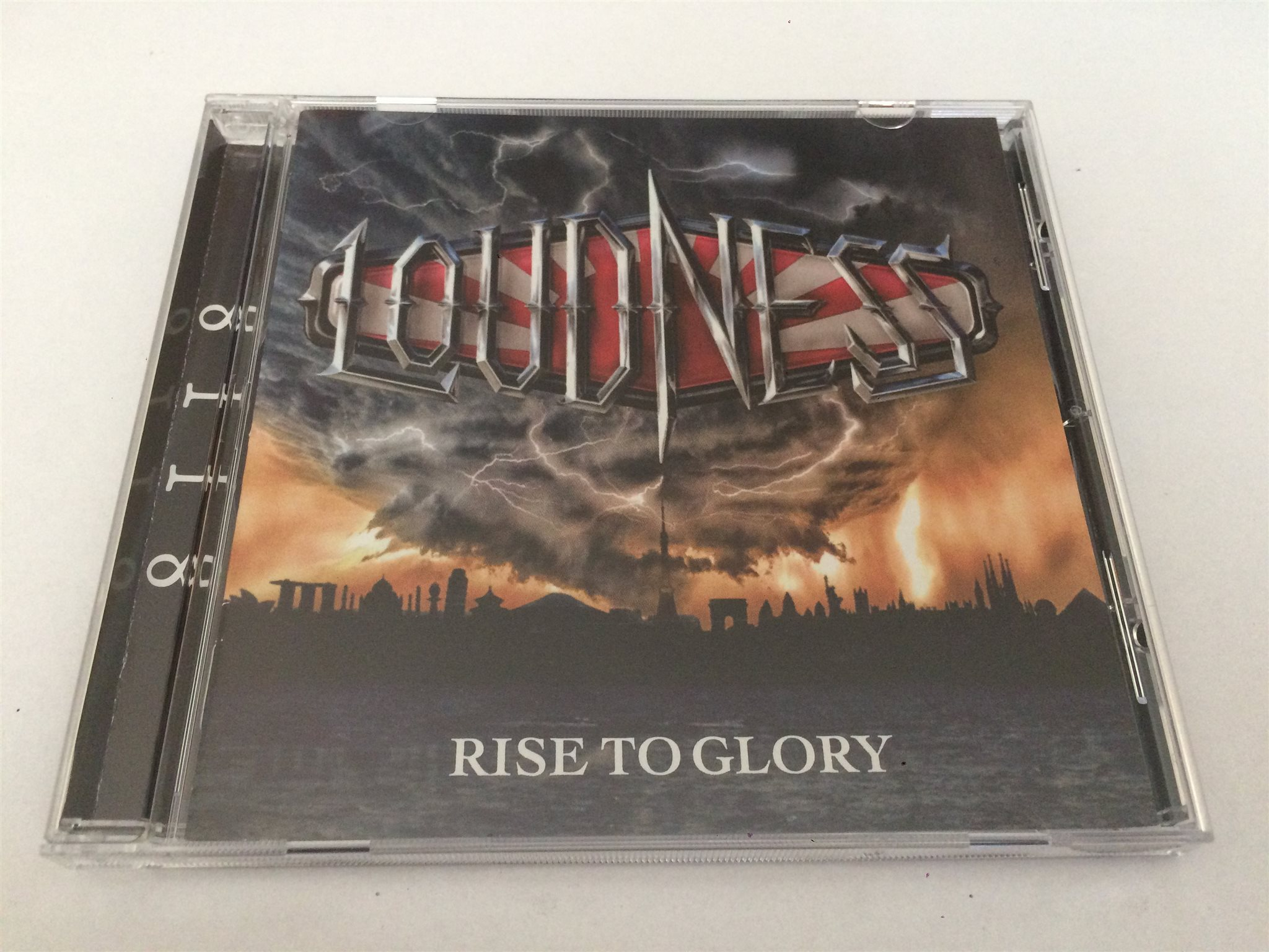 LOUDNESS Rise To Glory CD 2018 Import
