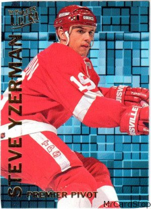 Ultra 1994-95 Premier Pivot 10 Steve Yzerman Detroit Red Wings