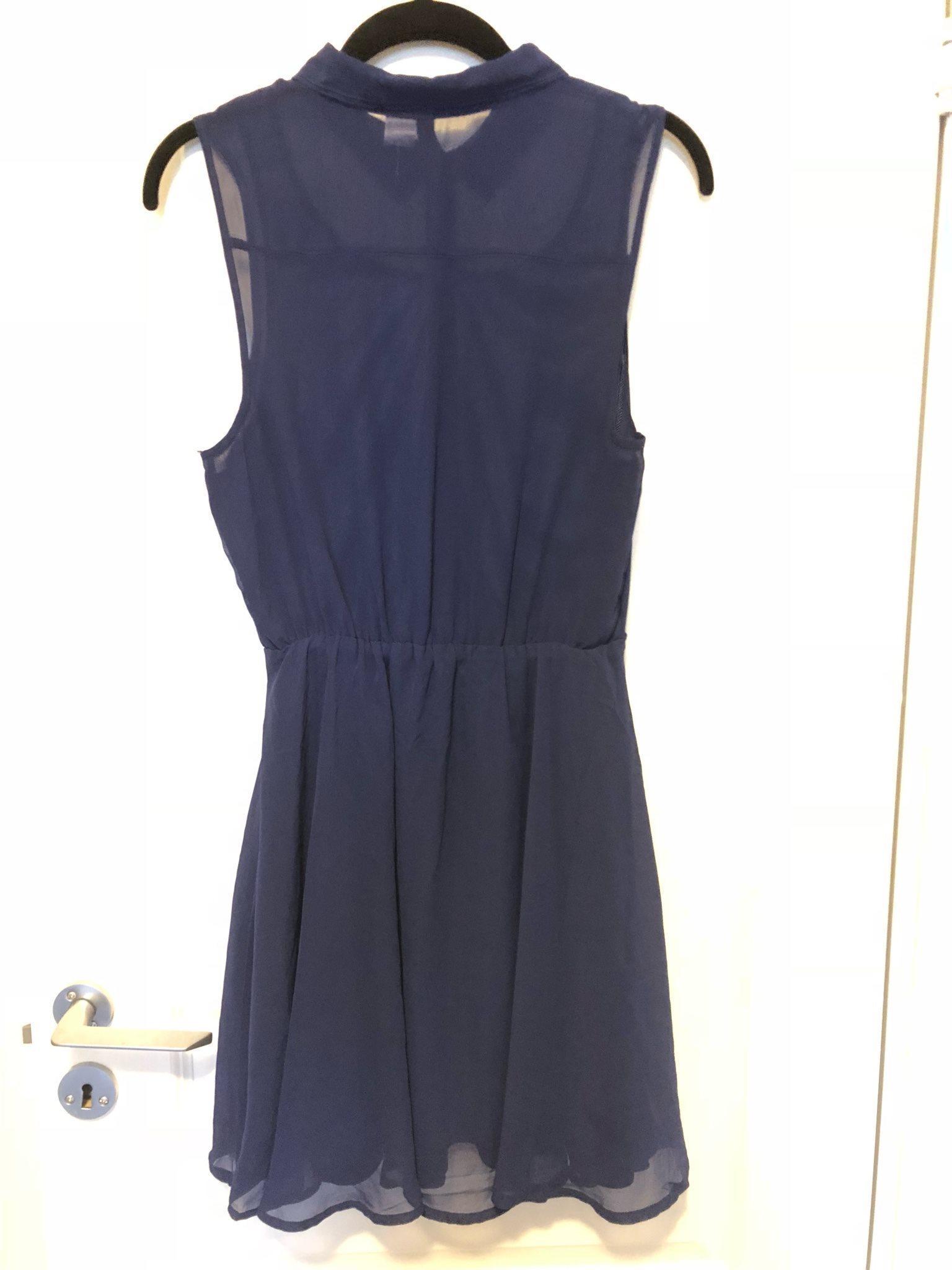 hm divided klänning