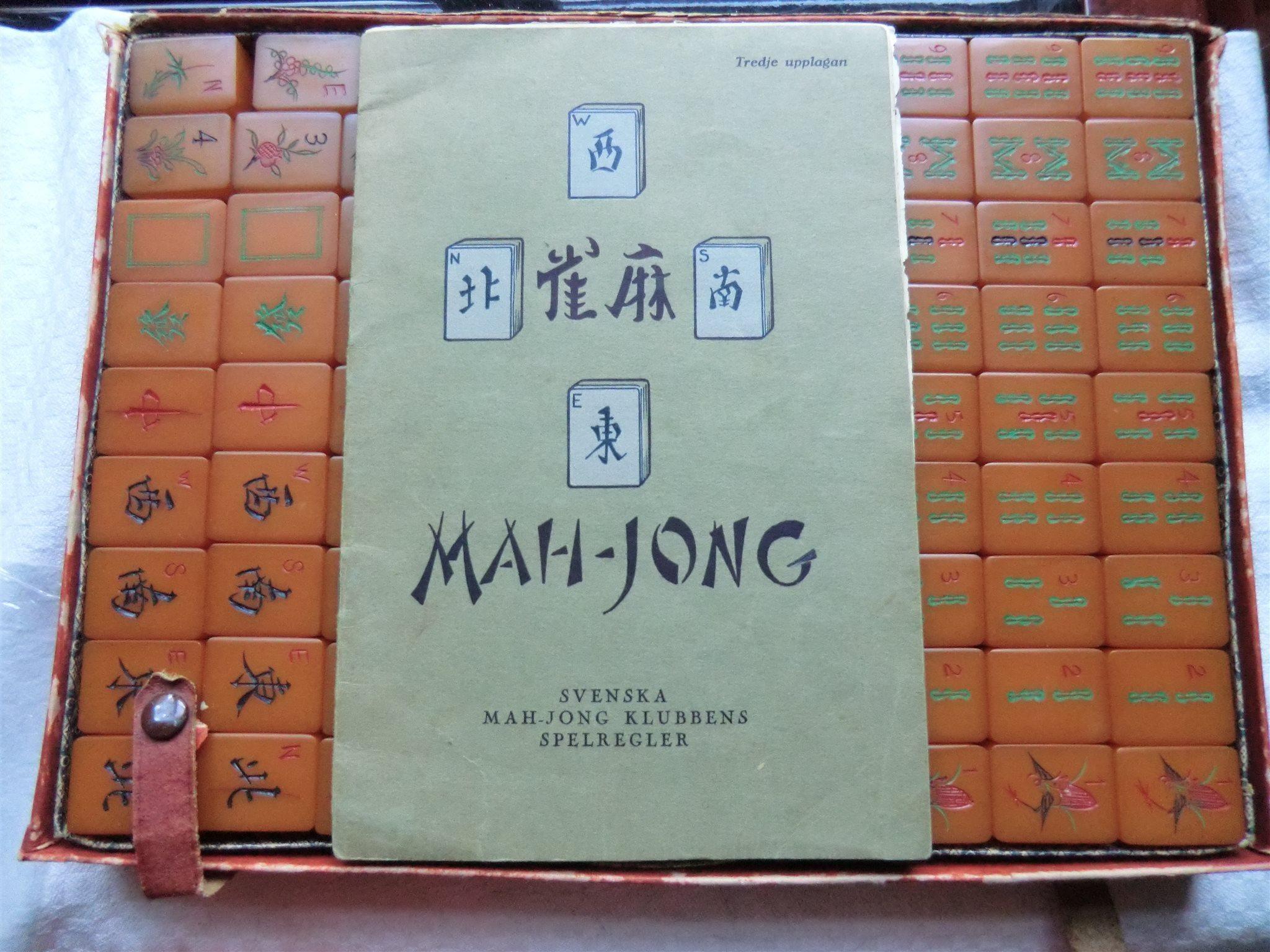 mahjong brädspel stockholm