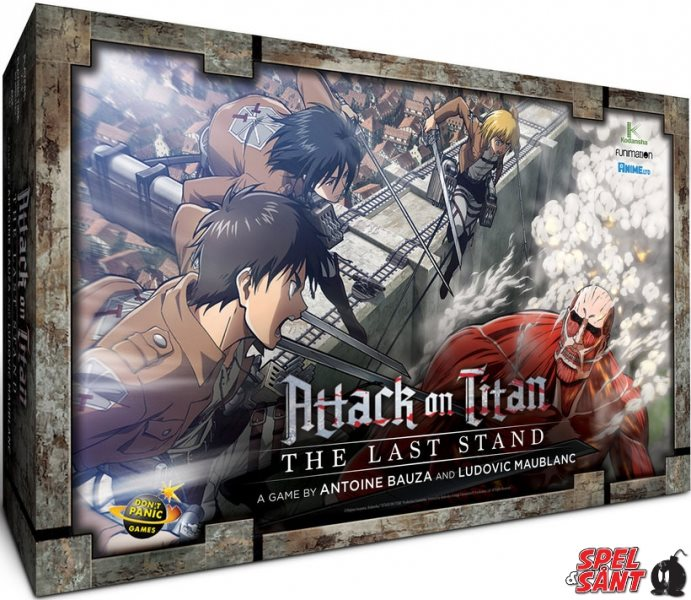 Attack on Titan The Last Stand