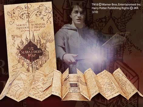 Harry Potter Karta Marauders
