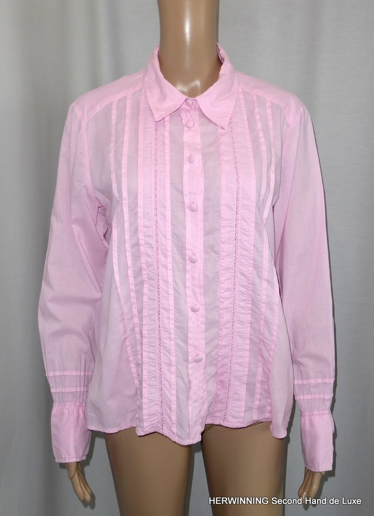 JACKPOT 42 44 Blus skjorta rosa brody.. (336073161) ᐈ Herwinning på ... c5efe60278c02