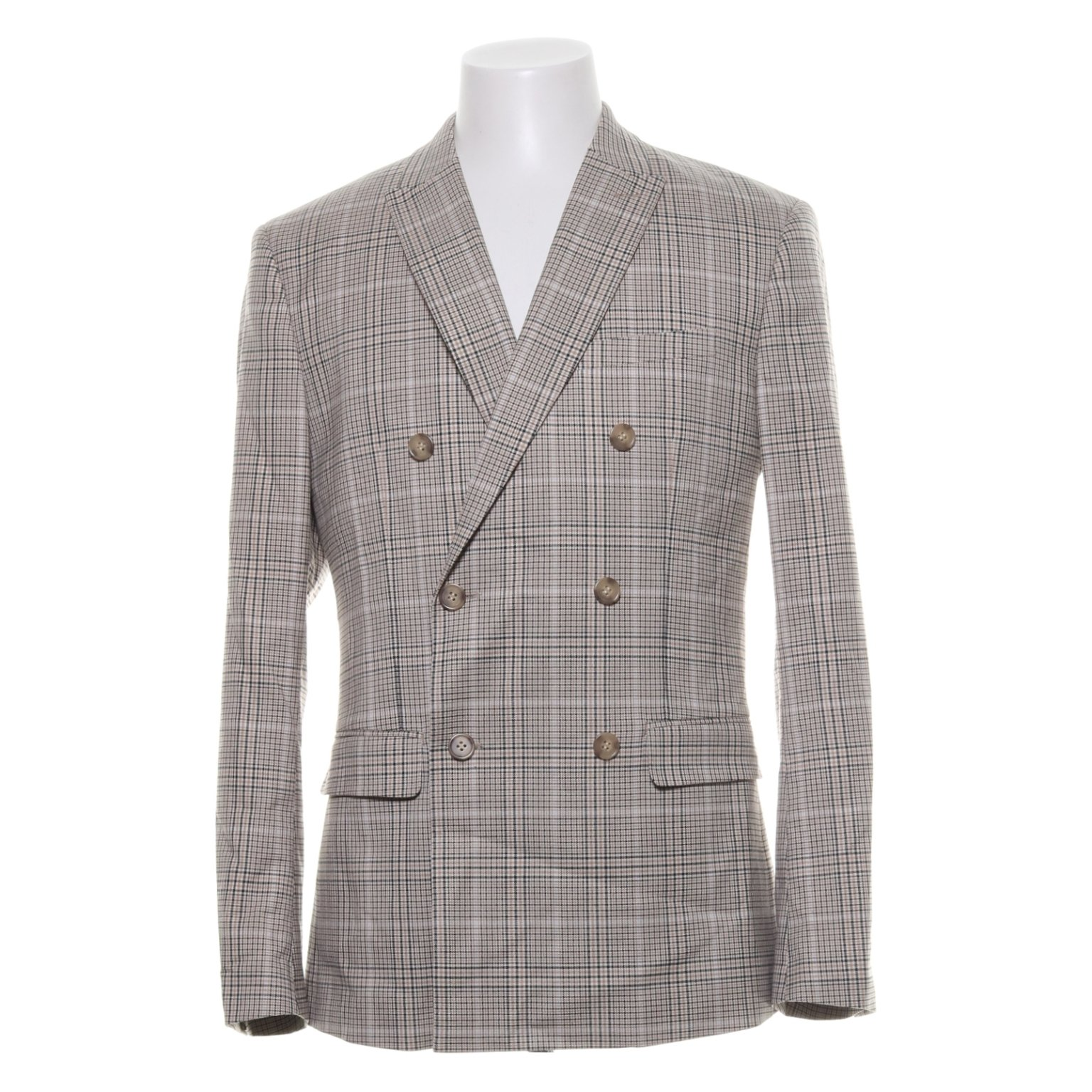 H&M Trend, Kavaj, Strl: M, Slim Fit, Beig.. (419534290) ᐈ