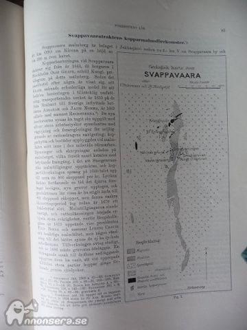 Sveriges ädlare malmer o bergverk; Tegengren från år 1924 på på på CD d8ff65
