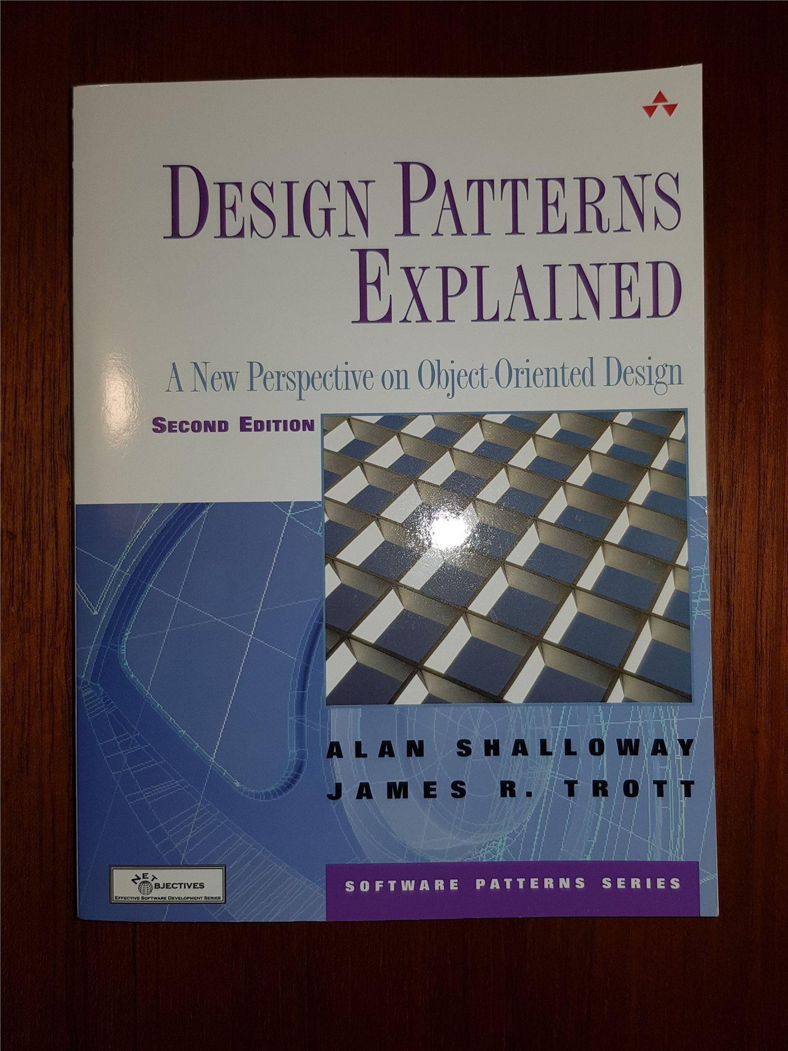 Design Patterns Explained 2ed Alan Shalloway  ISBN: 9780321247148