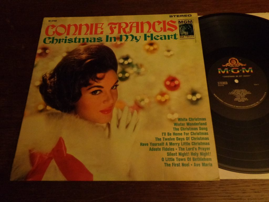 Connie Francis The Twelve Days Of Christmas.Connie Francis Christmas In My Heart 342824409 ᐈ Bleckburken Pa