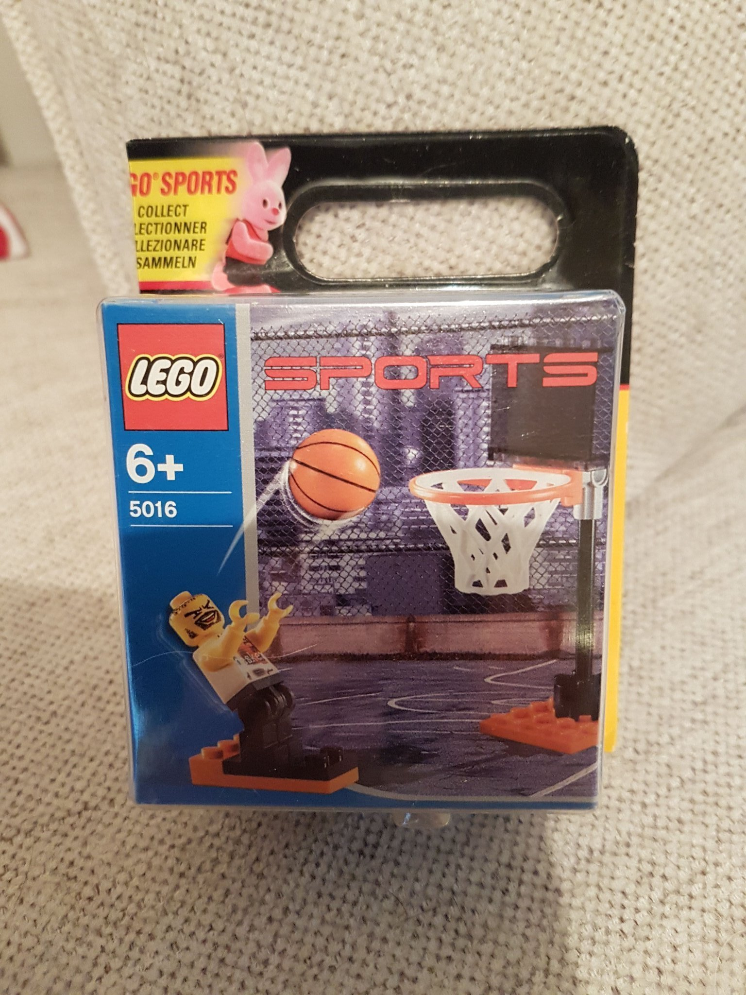 Lego OÖPPNAD sports 5016 Basketball promotional set