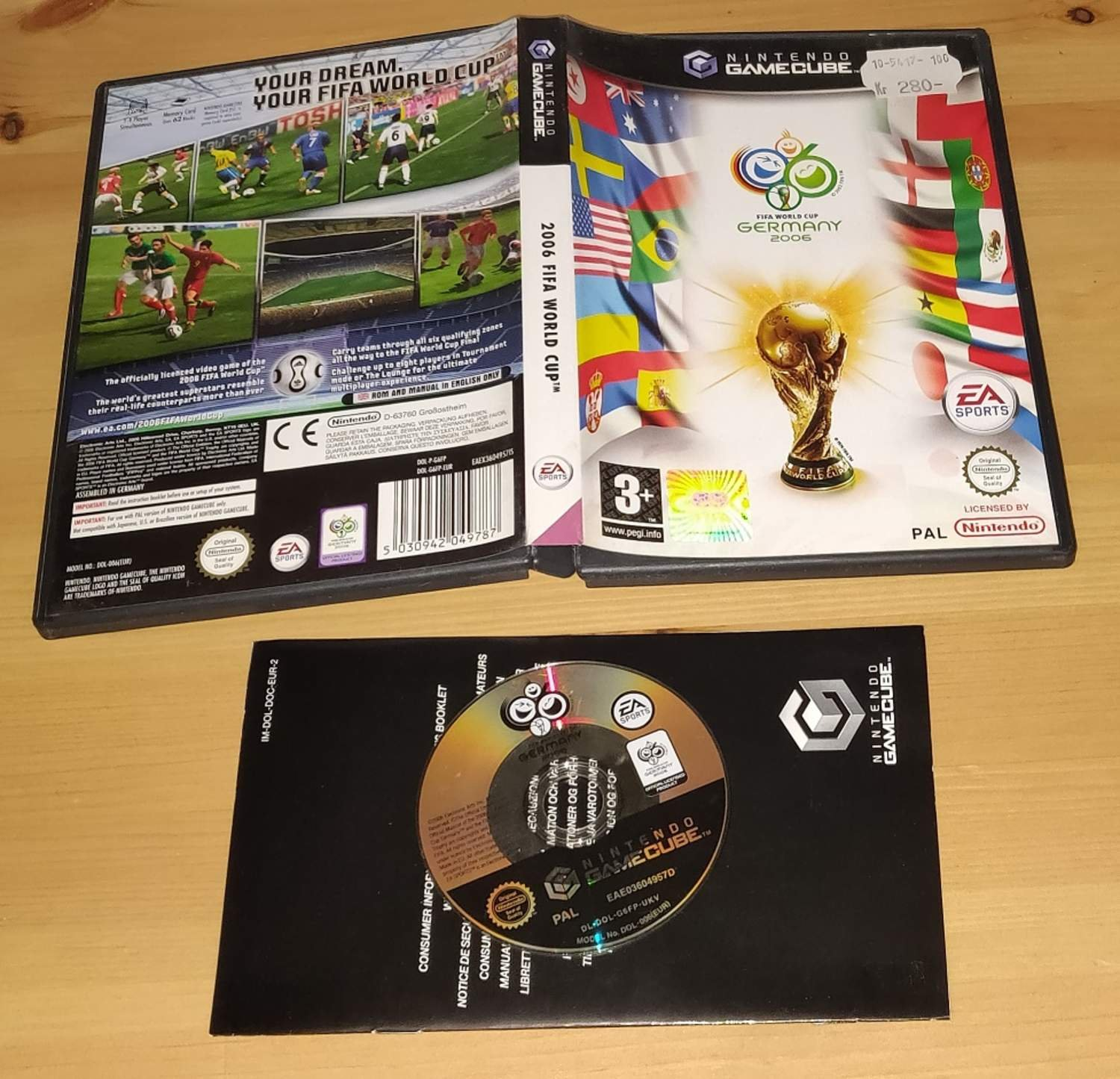 FIFA World Cup Germany 2006 Till Gamecube! Utrop 1kr!