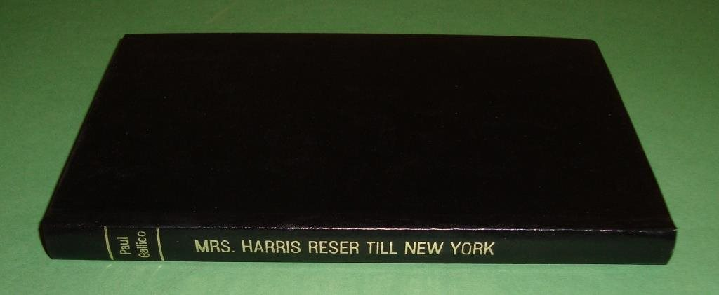 Gallico, Paul: Mrs. Harris reser till New York