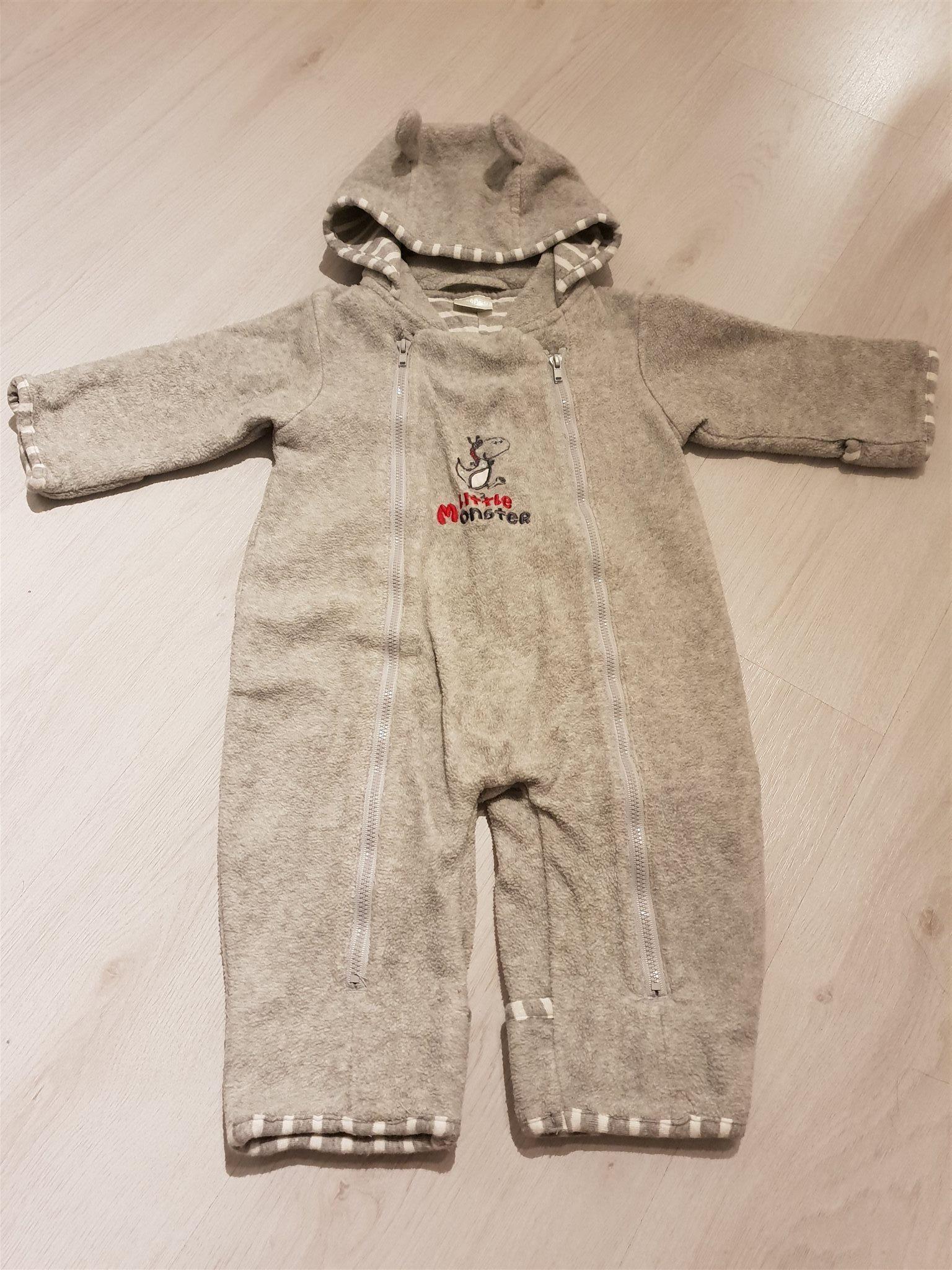 fleeceoverall baby kappahl