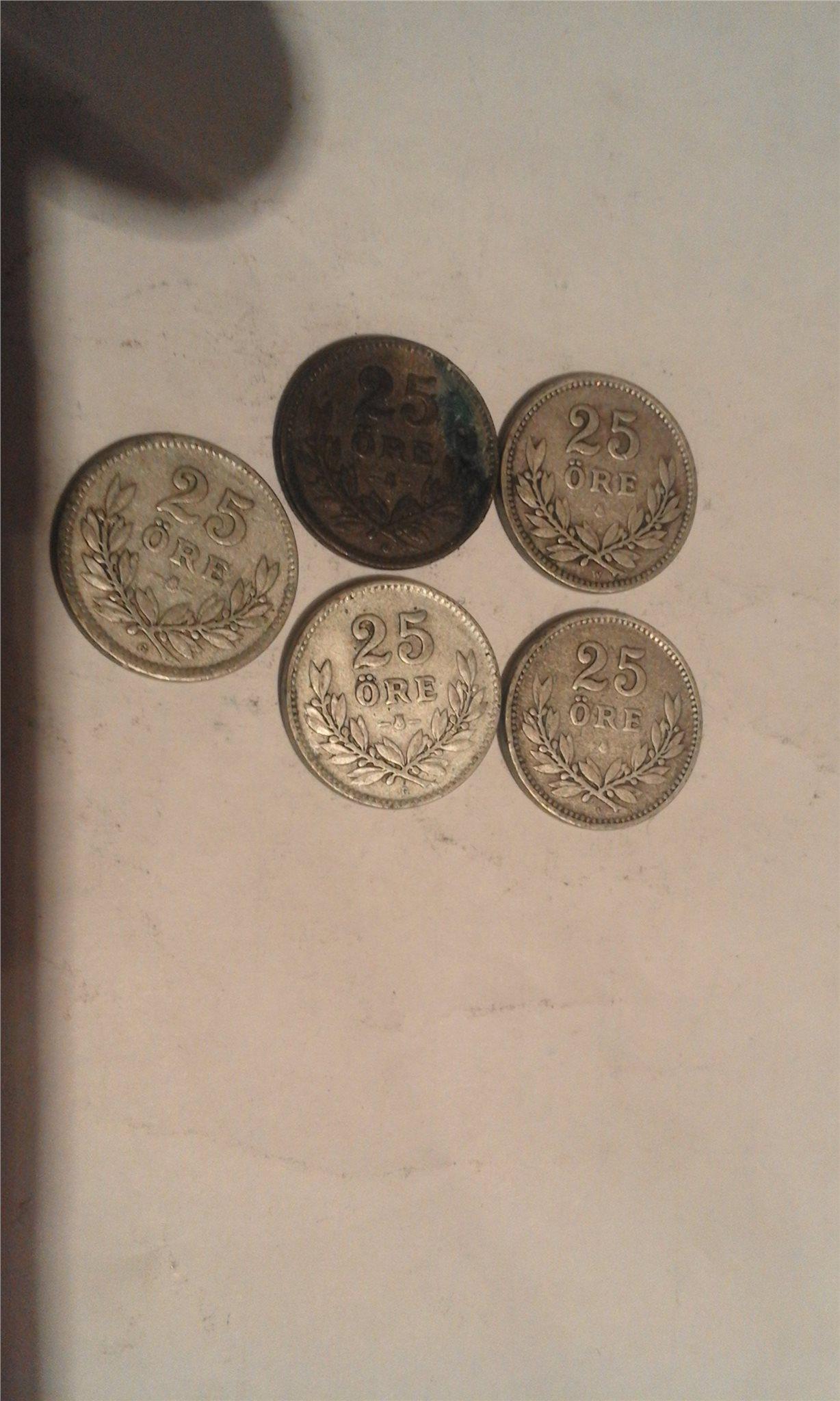 gamla svenska silverstämplar