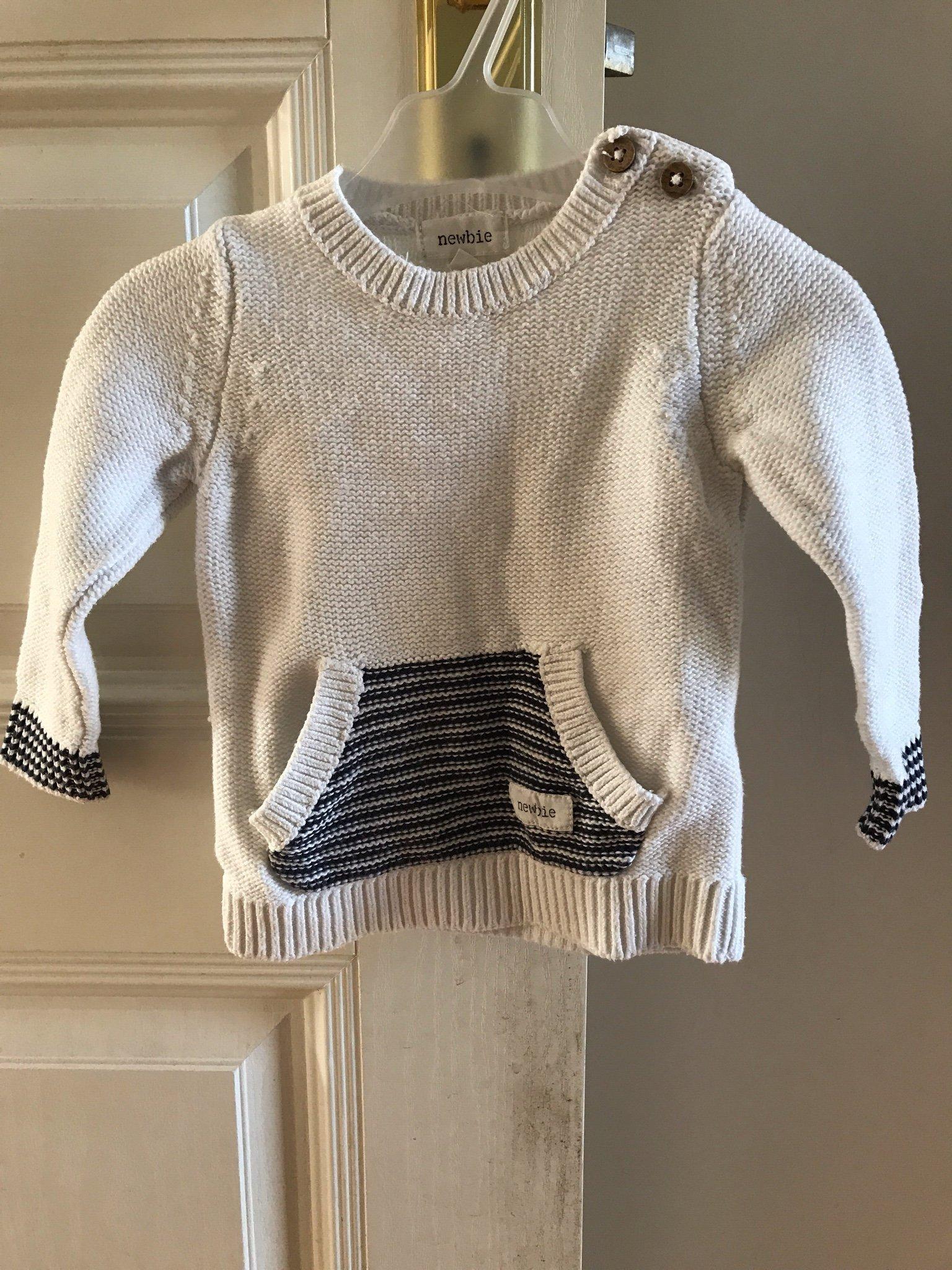 Stickad tröja, NEWBIE, storlek 62 (355275763) ᐈ Köp på Tradera