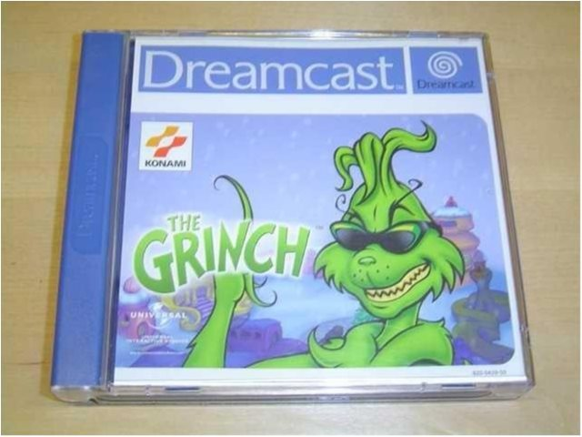 THE GRINCH SEGA DREAMCAST PAL KOMPLETT