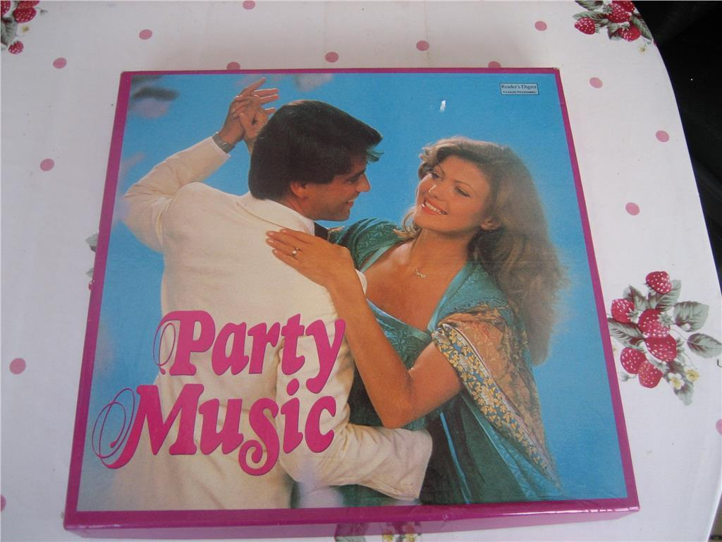 Samlingsbox - Party Music - 7 st LP-skivor